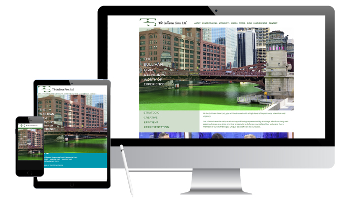 a new website for The Sullivan Firm